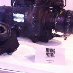 Moving Picture Burned ARRI Alexa in glass case at NAB 2011