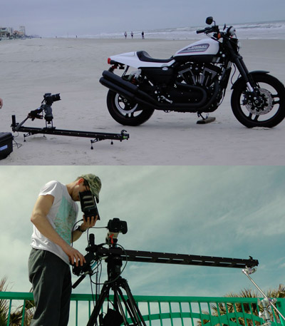 Kessler CineSlider On-Location in Daytona Beach