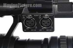 Sony PMW-EX3 XLR Audio Inputs