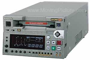 The Panasonic AJ-HD1400 DVCPro HD Recorder/Player.