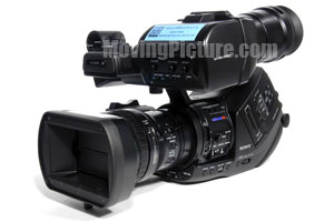 Sony PMW-EX3 CineAlta XDCAM EX SxS solid-state camcorder.