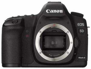 The full size sensor of the Canon 5D Mark II SLR advances progressive HD technology