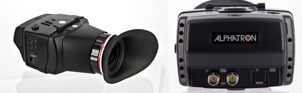 Alphatron EVF Combined