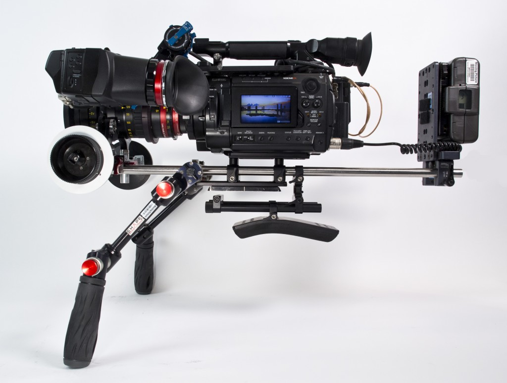 F3 Rig in Handheld Mode