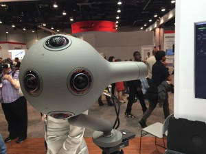 close up of Nokia's Ozo VR camera by Dave Wells