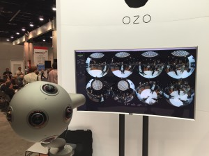 Nokia's Ozo VR camera as captured by Dave Wells of Moving Picture