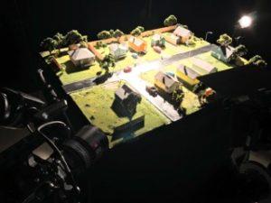 Tiny still life set for IBE optics Raptor Macro Lenses