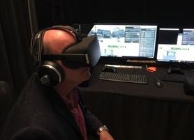 VR sound demo with David Wells