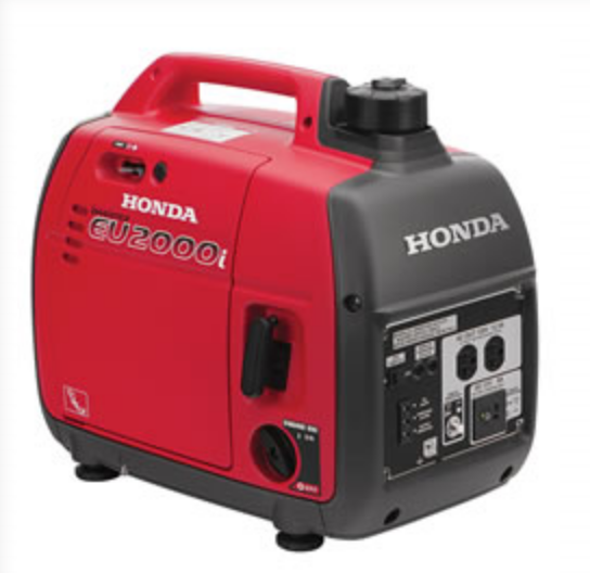 Moving Picture Rental Honda Generator for Rent