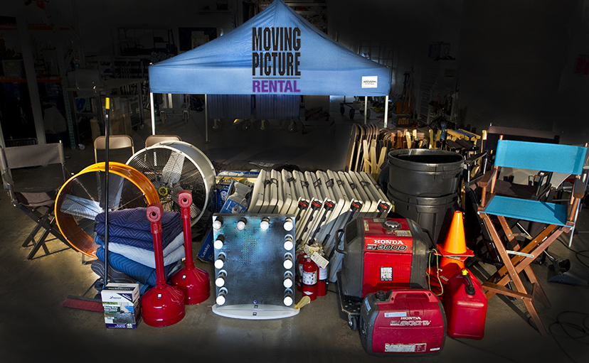 Moving Picture Rental Production Supplies