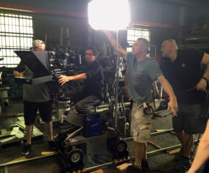 A dolly is part of an essential Movie equipment rental list