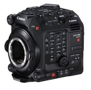 The Canon C500 Mark II, a new addition to our film gear rental inventory.