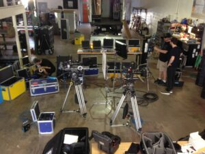 Film equipment rental house in South Florida